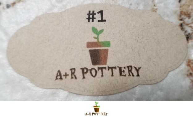 A+R Pottery number