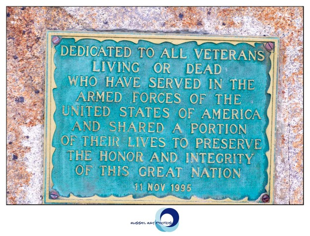 Veterans monument in Ocean Beach