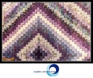Purple quilt at Quilts & More in Julian, California