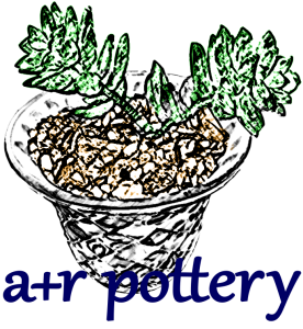 A+R POTTERY logo