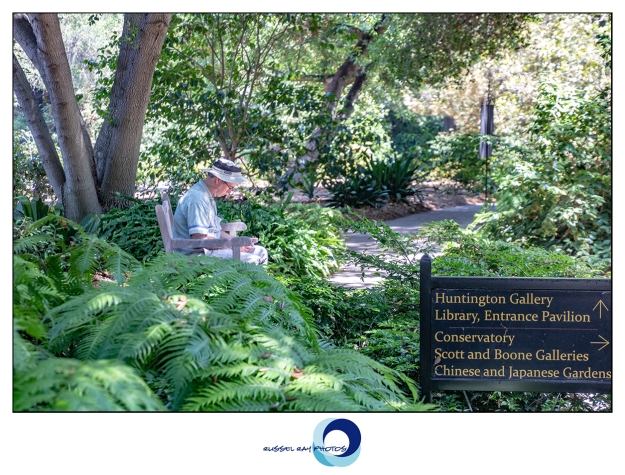Jim Frimmer at The Huntington