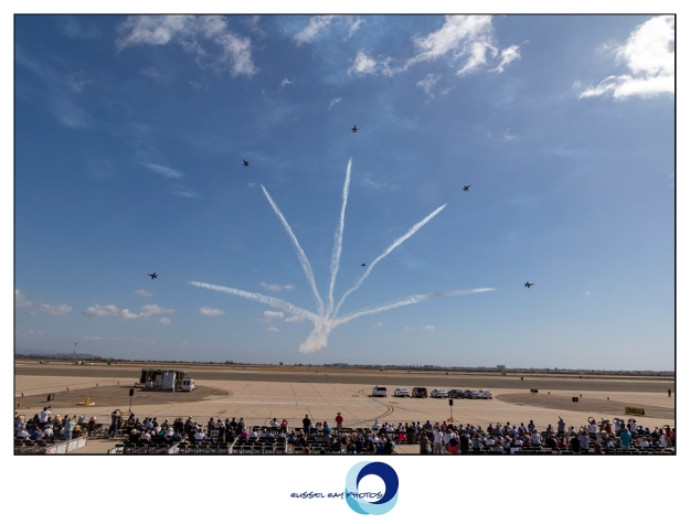 Marine Corps Air Station Miramar air show in October 2017 in San Diego