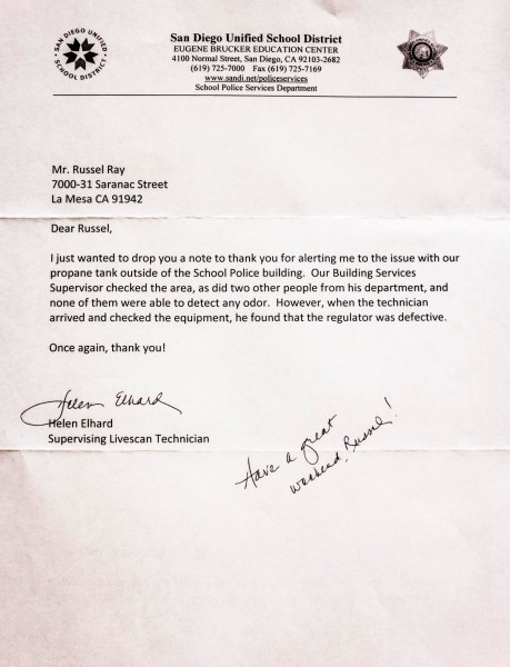 LivesSan letter