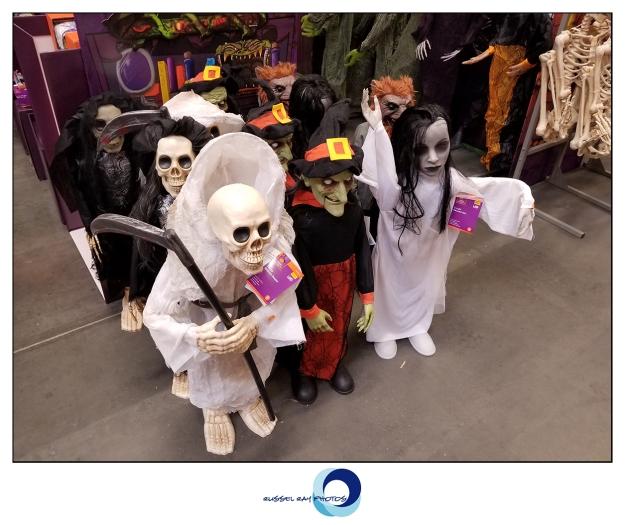 Halloween offerings at Home Depot, El Cajon, California
