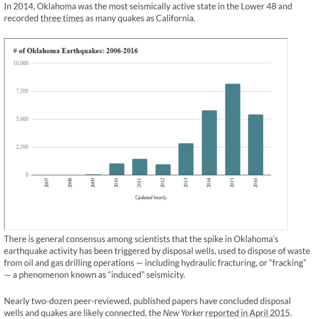 Oklahoma is the new earthquake state
