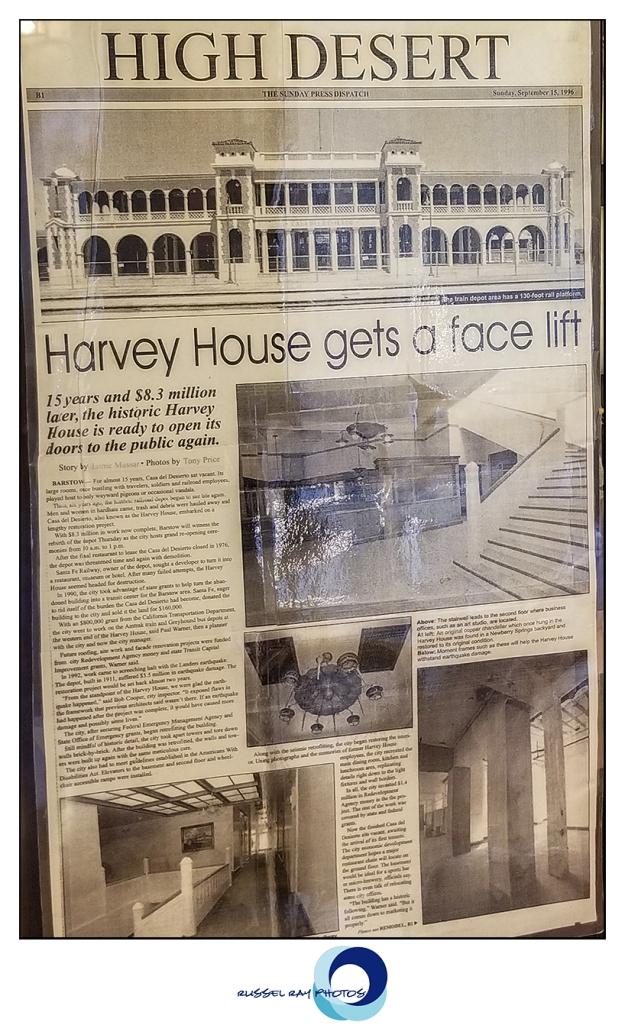 Harvey House history