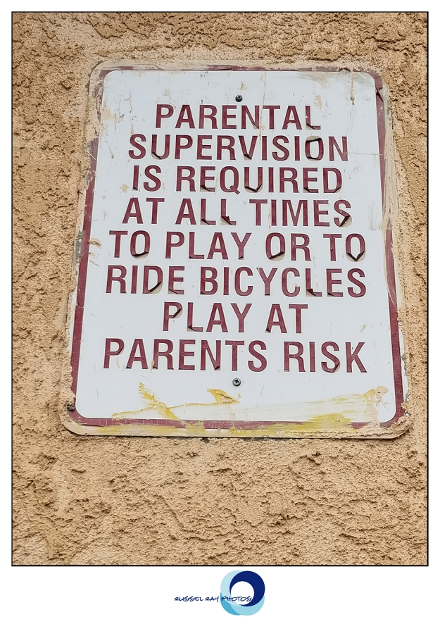 Play at parent's risk
