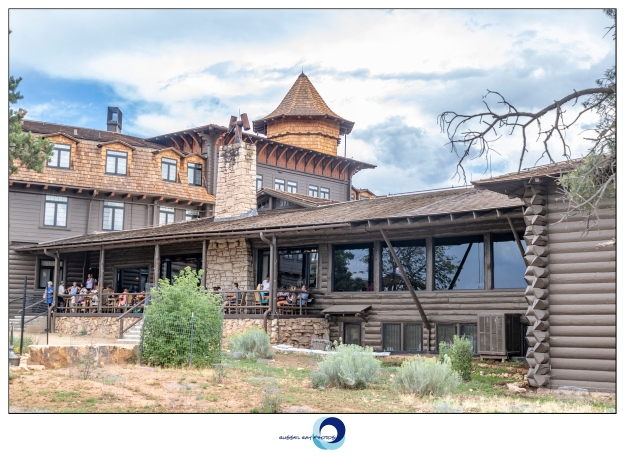 El Tovar Hotel on the South Rim of the Grand Canyon