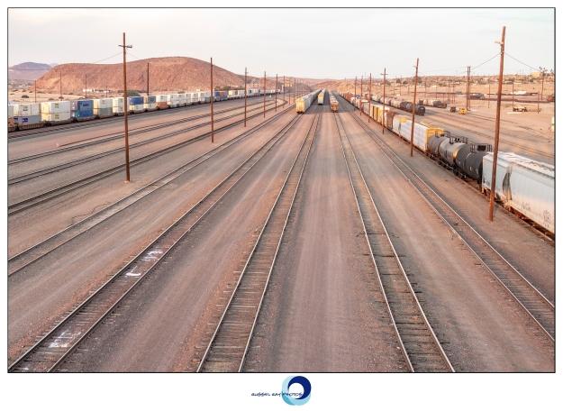 Barstow rail yard