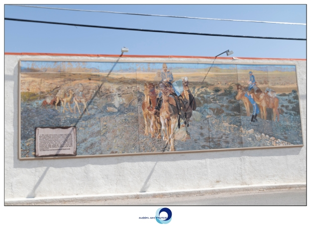 Mural in Barstow, California