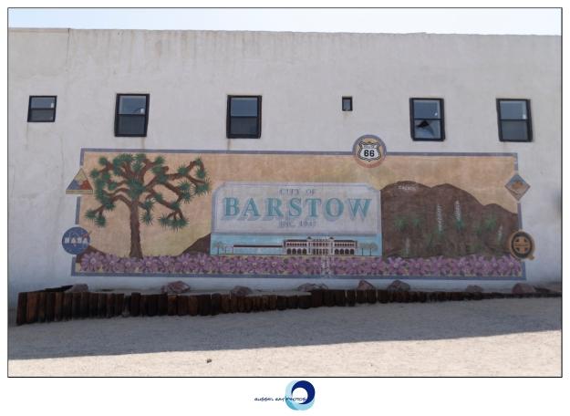 Mural in Barstow, California