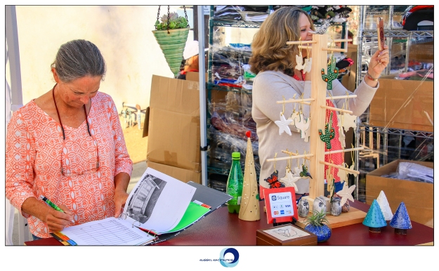 Gretchen and Rhonda of Woogie's Place at the November 2018 Carlsbad Village Faire
