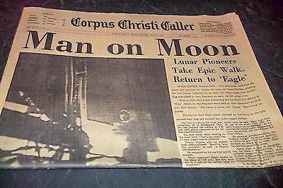 Corpus Christi Caller moon landing paper