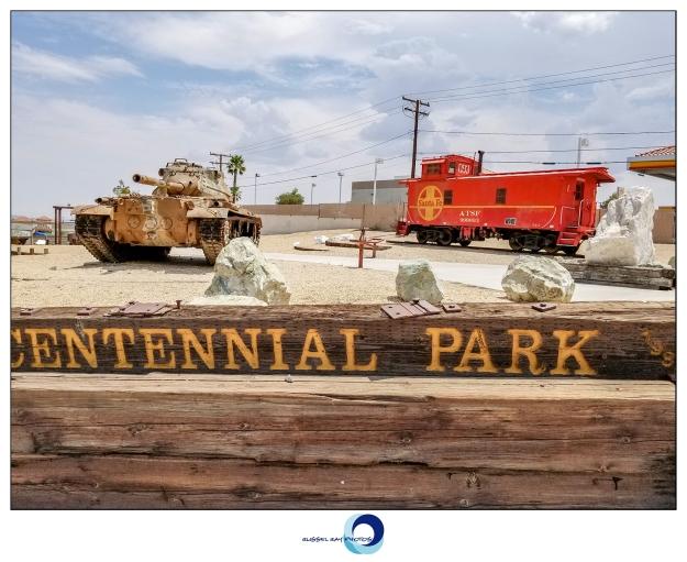 Rotary Centennial Park in Barstow, California
