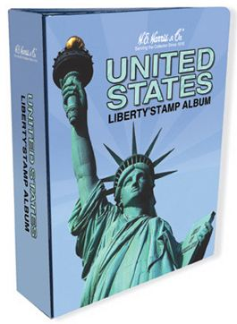 Harris Liberty stamp album