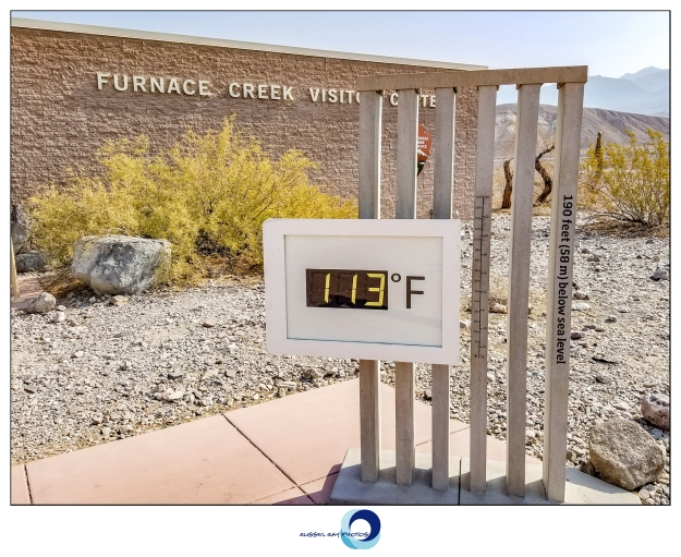 Furnace Creek Visitor Center in Death Valley