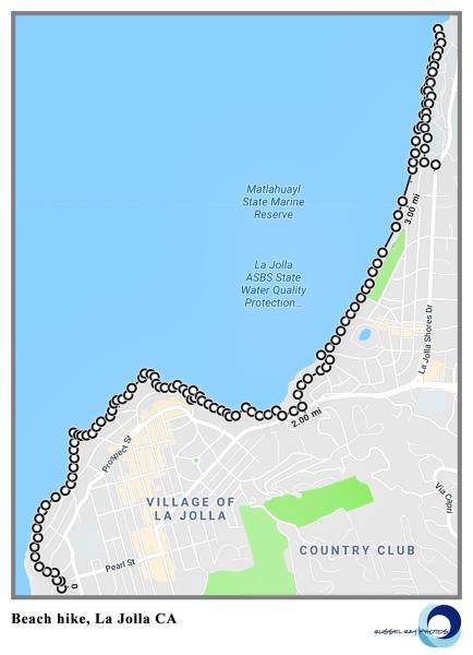 4.5-mile La Jolla hike