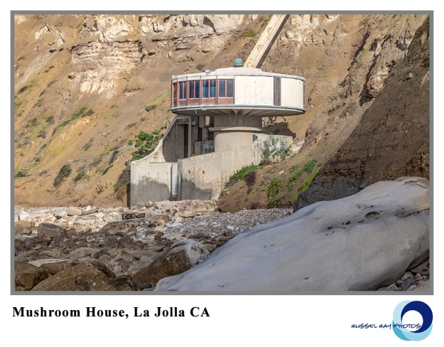 Mushroom House in La Jolla CA