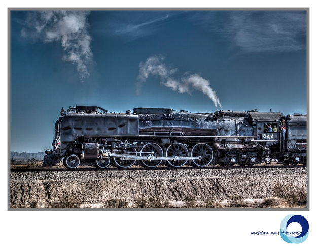 Union Pacific Northern 844