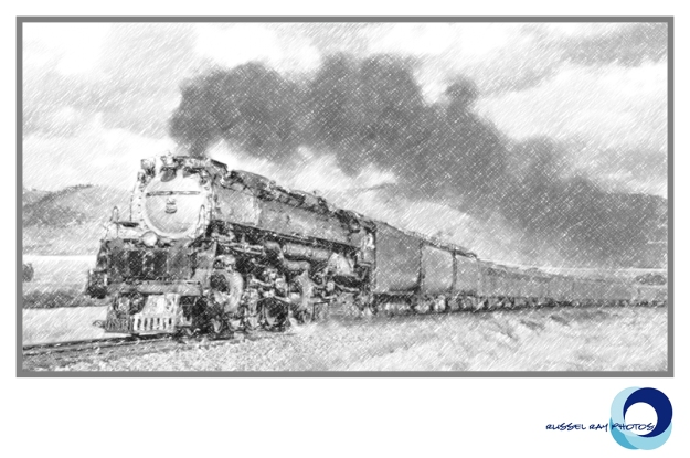 Union Pacific Challenger 3985