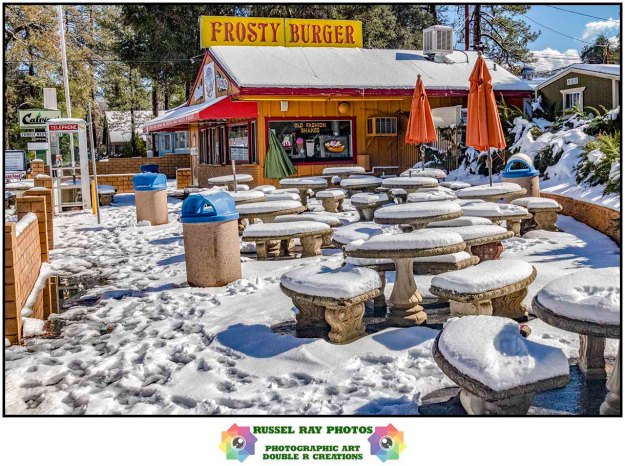 Frosty Burger in Pine Valley, California