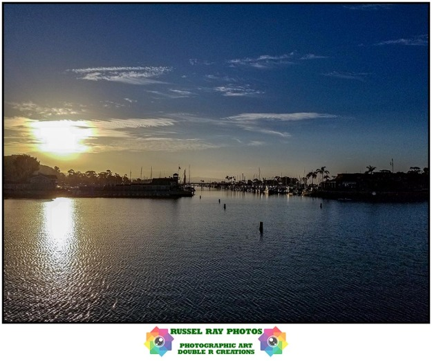 9/6/2019 sunrise in Dana Point harbor, California