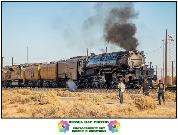 Big Boy in Yermo on 10/12/19