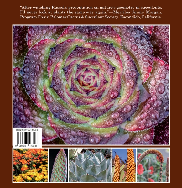 Nature's Geometry: Succulents back cover